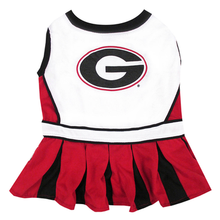 Georgia Bulldogs Cheerleader Dog Dress