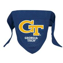 Georgia Tech Mesh Dog Bandana