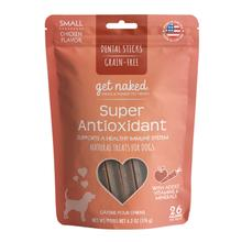 Get Naked Grain Free Dental Sticks Dog Treats - Super Antioxidant