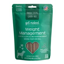 Get Naked Grain Free Dental Sticks Dog Treats - Weight Management