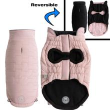 GF Pet Reversible Chalet Dog Jacket - Pink