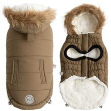GF Pet Urban Parka Dog Coat - Khaki