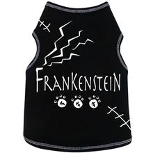 Frankenstein Dog Tank - Black