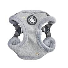 Gia Comfort Dog Harness By Puppia - Grey