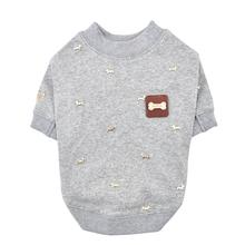 Gia Dog Shirt By Puppia - Grey