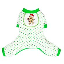 Gingerbaby Dog Pajamas by Pooch Outfitters - Green