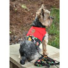 Gingerbread Harness Vest with Matching Leash by Doggie Design