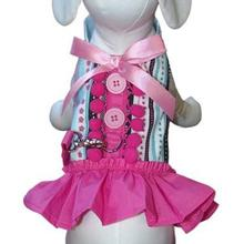 Hot to Trot Dog Harness Dress with Leash by Cha-Cha Couture