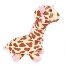 Giraffe Safari Baby Pipsqueak Dog Toy By Oscar Newman - Pink