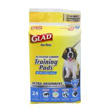 Glad Activated Charcoal Puppy Pads with Leak-Proof Edges