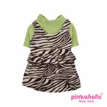 Glamor Dog Dress by Pinkaholic - Brown
