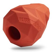 Gnawt-a-Cone Rubber Dog Toy by Ruffwear - Sockeye Red