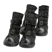 GF Pet Elastofit Dog Boots - Black
