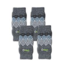 Go Fresh Pet Dog Leg Warmers - Blue Nordic
