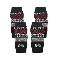 GF Pet Dog Leg Warmers - Red Nordic