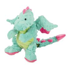 goDog Dragons Tough Dog Toy With Chew Guard - Blue
