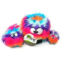 goDog Furballz Dog Toy - Cool Rainbow