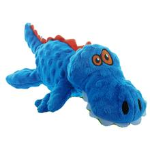 goDog Gators Dog Toy - Blue/Orange