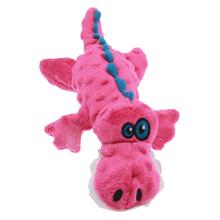 goDog Gators Dog Toy - Pink
