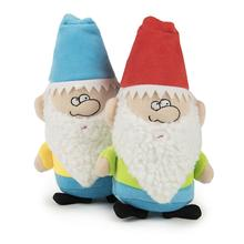 goDog Gnomes Plush Dog Toy with Chew Guard Technology