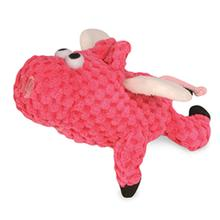 goDog Just for Me Flying Pink Dog Toy - Pink