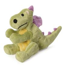 goDog Dragons Dog Toy - Lime Green