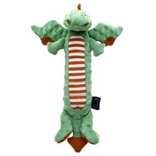 goDog Skinny Dragon Dog Toy - Holiday