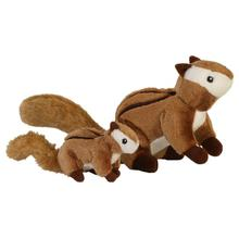 GoDog Wildlife Chipmunk Dog Toy
