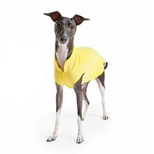 Gold Paw Fleece Dog Jacket - Sunflower Yellow