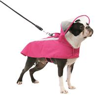 Gooby Adjustable Dog Raincoat - Pink