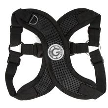 Gooby Comfort X Step-In Dog Harness - Black