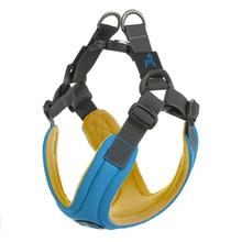 Gooby Escape Free Memory Foam Dog Harness - Blue