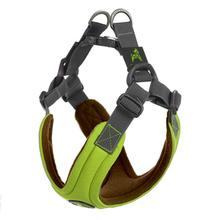 Gooby Escape Free Memory Foam Dog Harness - Green