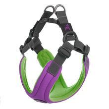 Gooby Escape Free Memory Foam Dog Harness - Purple