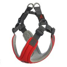 Gooby Escape Free Memory Foam Dog Harness - Red