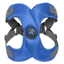 Gooby Escape Free Memory Foam Step-In Dog Harness - Blue