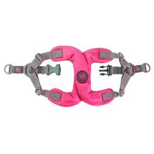 Gooby Escape Free Memory Foam Step-In Dog Harness - Hot Pink