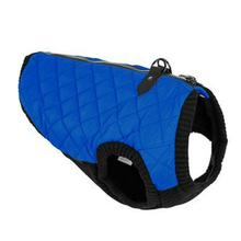 Gooby Fashion Quilted Dog Vest - Blue