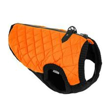 Gooby Fashion Quilted Dog Vest - Orange