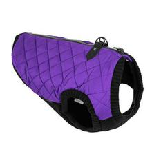 Gooby Fashion Quilted Dog Vest - Violet