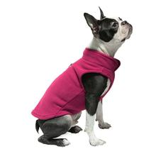 Gooby Fleece Dog Vest - Fuchsia