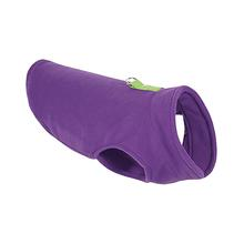 Gooby Fleece Dog Vest - Purple