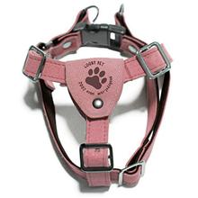 Gooby Luxury Step-In Dog Harness - Pink