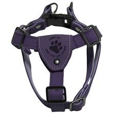 Gooby Luxury Step-In Dog Harness - Purple
