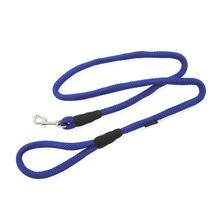 Gooby Mesh Fabric Dog Leash - Blue