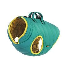 Gooby Padded Lift Dog Vest - Turquoise