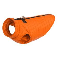 Gooby Puffer Dog Vest - Orange