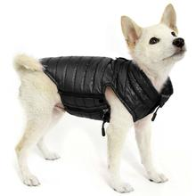 Gooby Puffer Down Dog Vest - Black