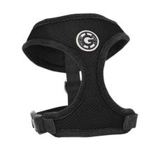 Gooby Soft Mesh Dog Harness - Black