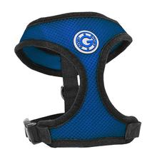 Gooby Soft Mesh Dog Harness - Blue